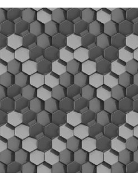 Hexagonal shape wallpaper