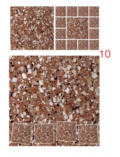 Terrazzo Tiles 25 cm