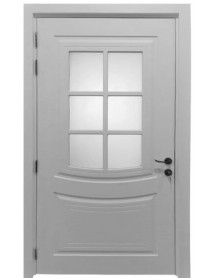 Classic Door with Glass (1)