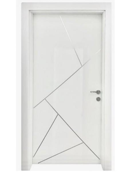 Modern Door with steel strip (1)