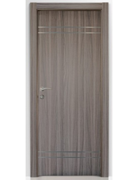 Modern Door with steel strip (3)