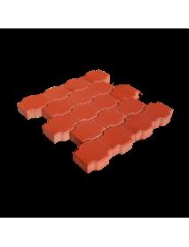 Interlock tiles (X shape)